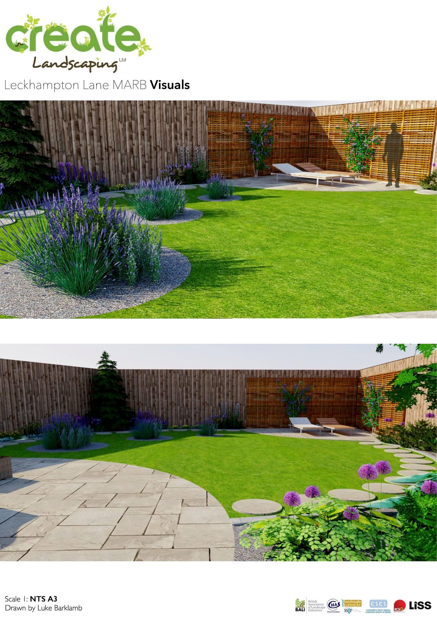 Luke barklamb latest commercial landscape design project for Landscape design creator